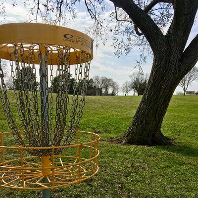 Hole 4 Basket to Tee