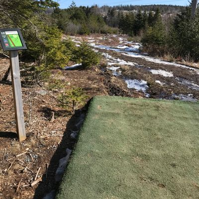 Hole 13 - March 2021