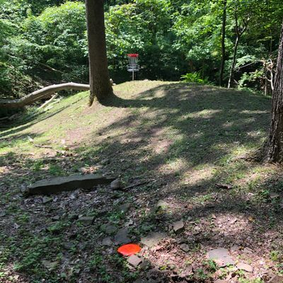 Hole 11 from the fairway