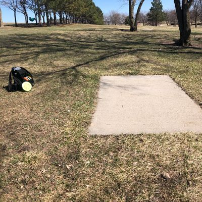Some holes are blind. Need to be careful of other park users.