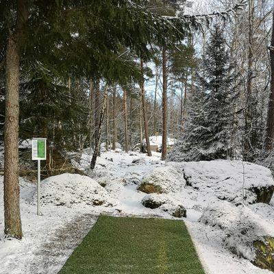 Wintergolf at Lundby parken is amazing!