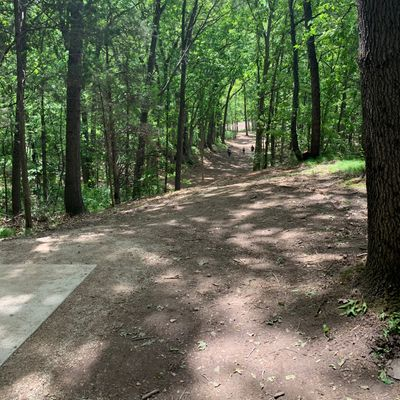 New layout for hole 5