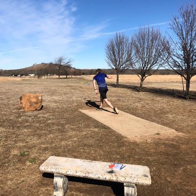 Beautiful day for Disc Golf!
