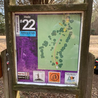 Hole 22 map