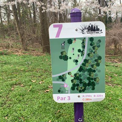 7 purple/short tee map