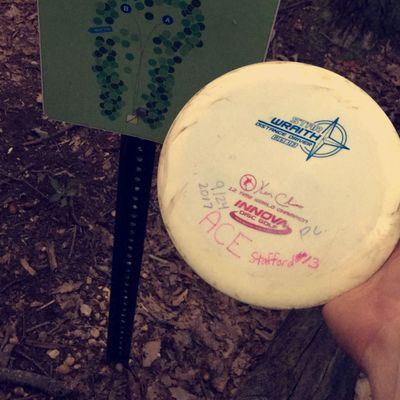 My first ace on hole 13