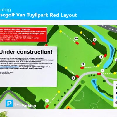 Red layout board
