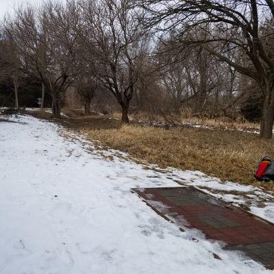 Hole 6 - winter