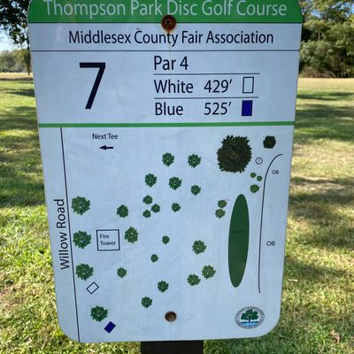 Map of Hole 7