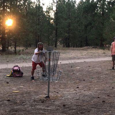 Hole 17 basket