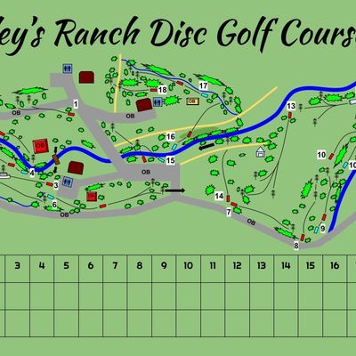 New course map as of June 2021