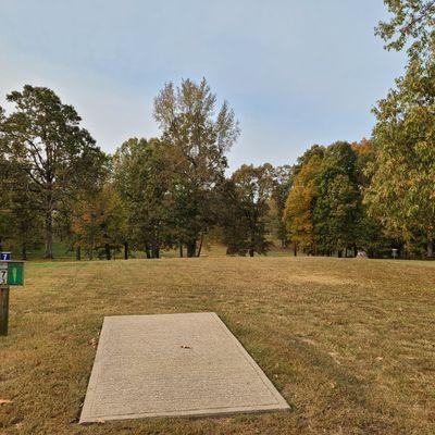 Recreation course hole 7
