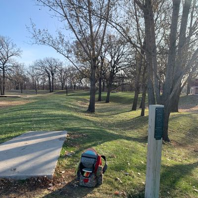 View of hole 5.