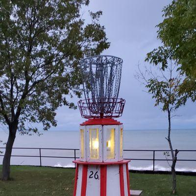 The shores of Lake Michigan