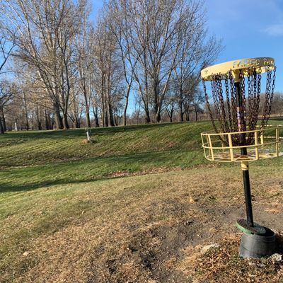 I believe this is hole 12's basket.