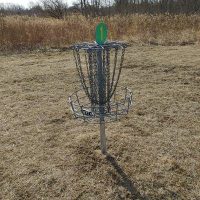 Hole 1 Basket