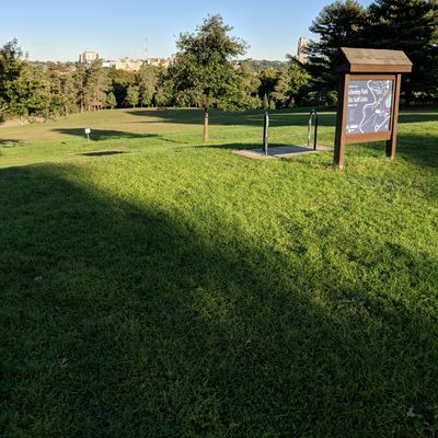 View of bits of hole 1, 2, and 3.