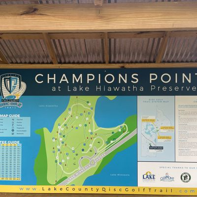 Course Map with Tee guide