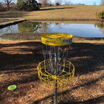 Basket on hole #6